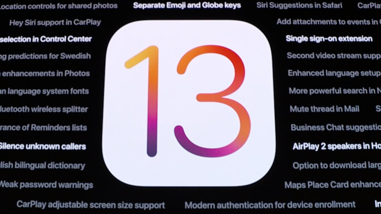 Apple iPhone & iPad: iOS 13 erscheint am 19. September, iPadOS 13 am 30.9.