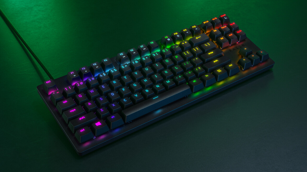 Huntsman Tournament Edition: Razer stellt TKL-Tastatur mit linearen optischen Tastern vor