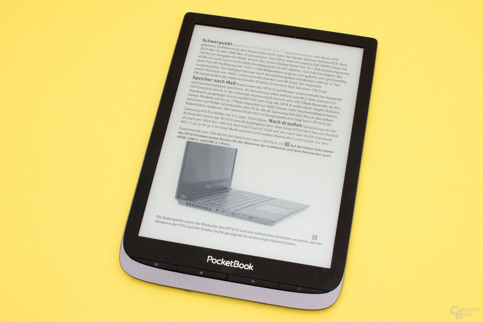 PDF-Reflow auf dem InkPad 3 Pro