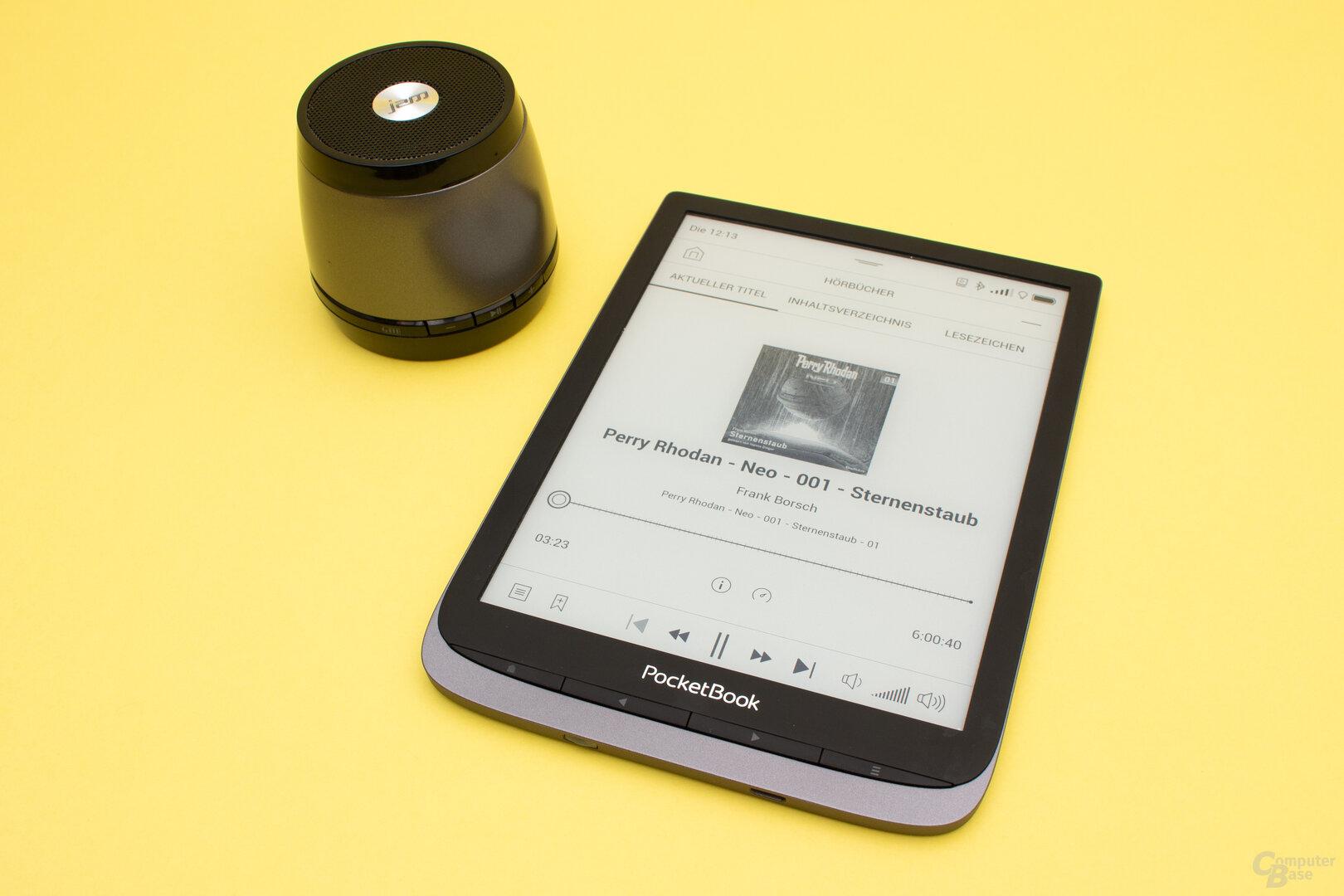 Die Hörbuch-App bringt einige sinnvolle Funktionen mit sich