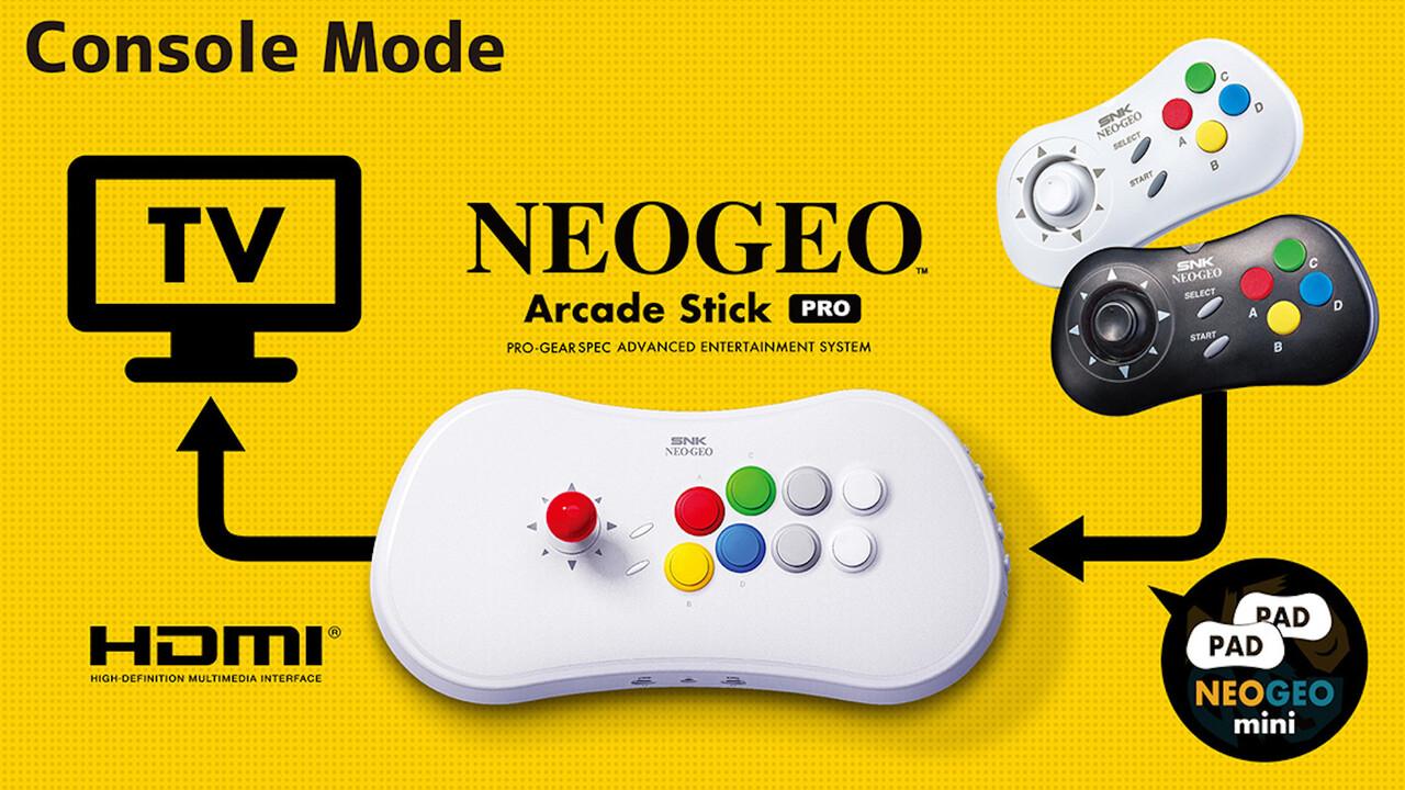 NeoGeo: Arcade Stick Pro ist Retro-Konsole im Retro-Controller