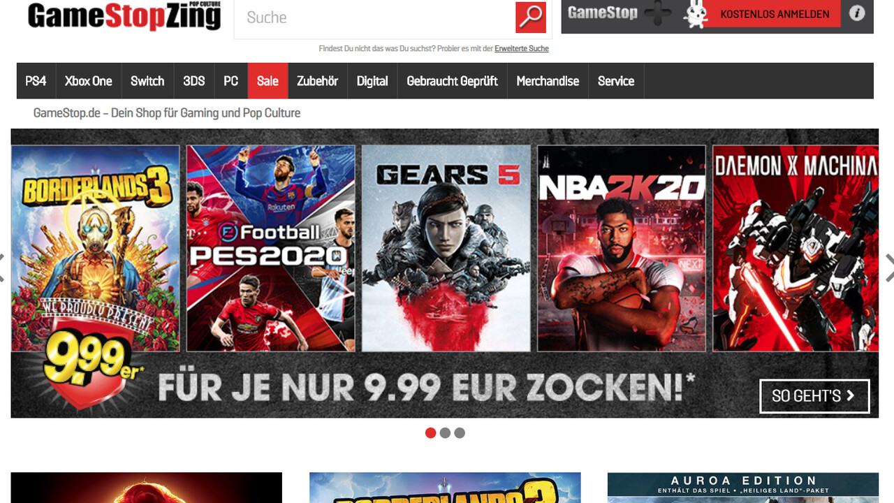 GameStop: Schließung von rund 200Läden ist nur der Anfang