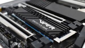 Viper VP4100: Erste PCIe-4.0-SSD von Patriot soll 800.000 IOPS schaffen