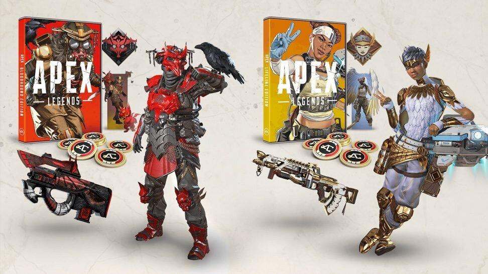 Der Inhalt der Retail-Version von Apex Legends im Überblick