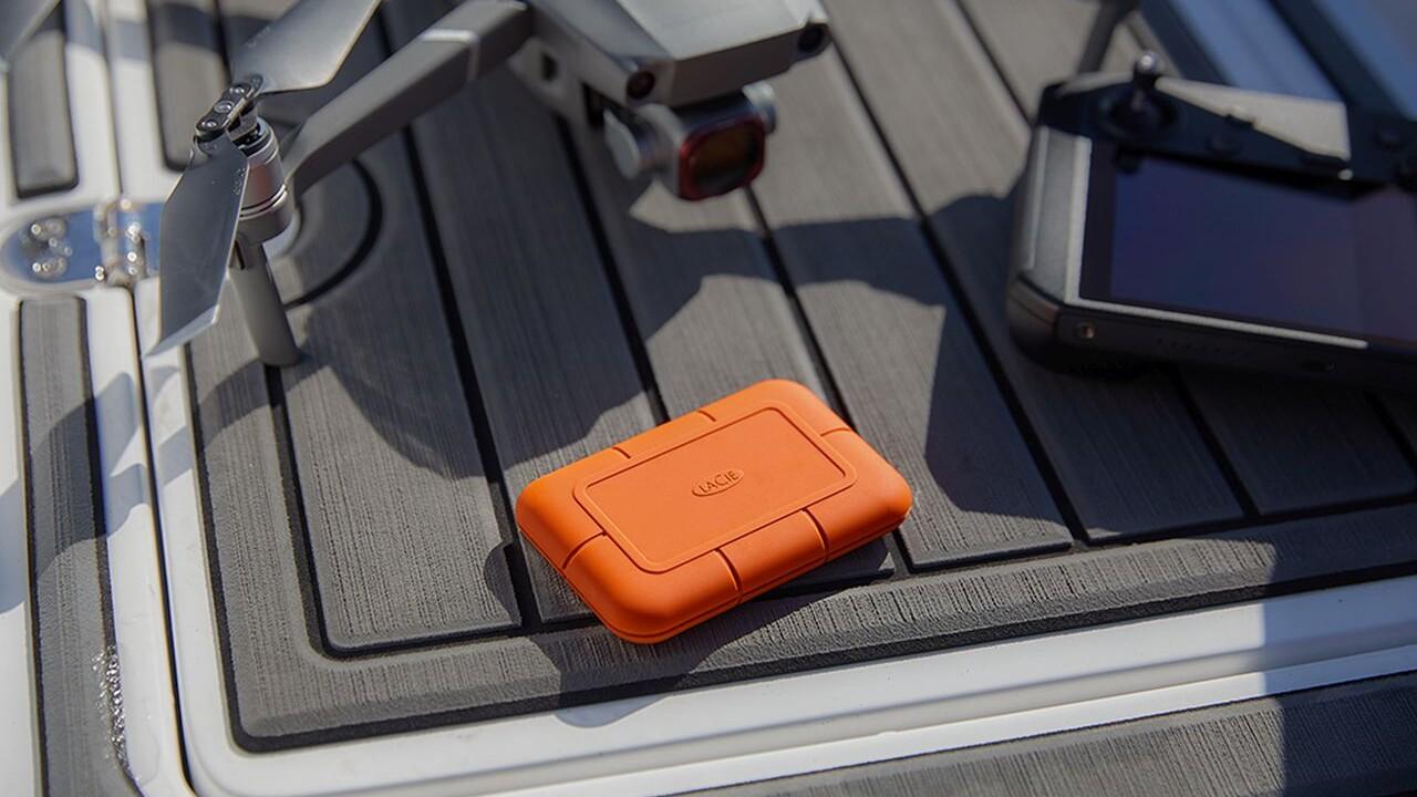 Outdoor-Datenträger: LaCie Rugged Boss SSD mit integriertem Kartenleser