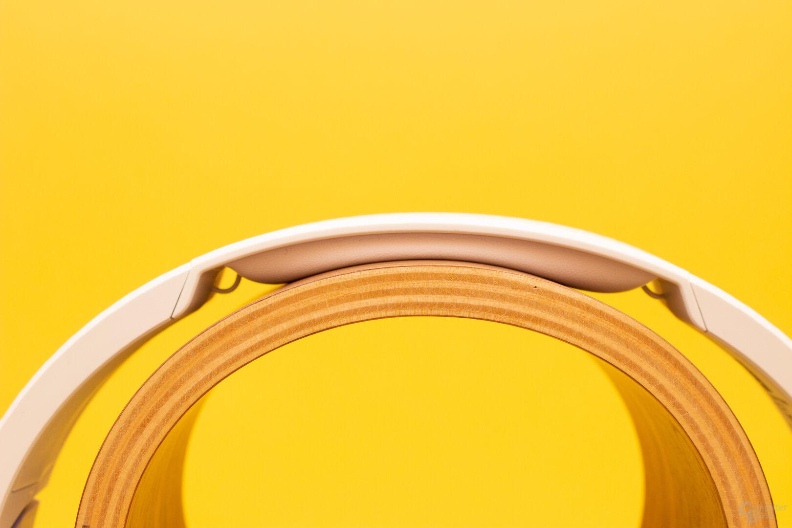 Das Bügelpolster des Recon Spark ist zwar kurz, reicht für einen bequemen Sitz aber aus