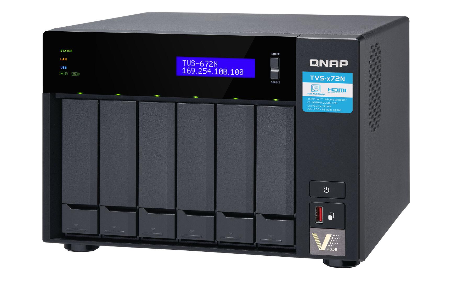 QNAP TVS-672N
