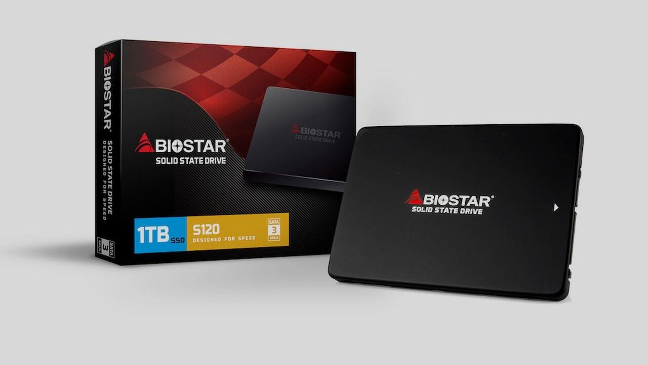 Biostar S120: Standard-SATA-SSD wird blumig vermarktet