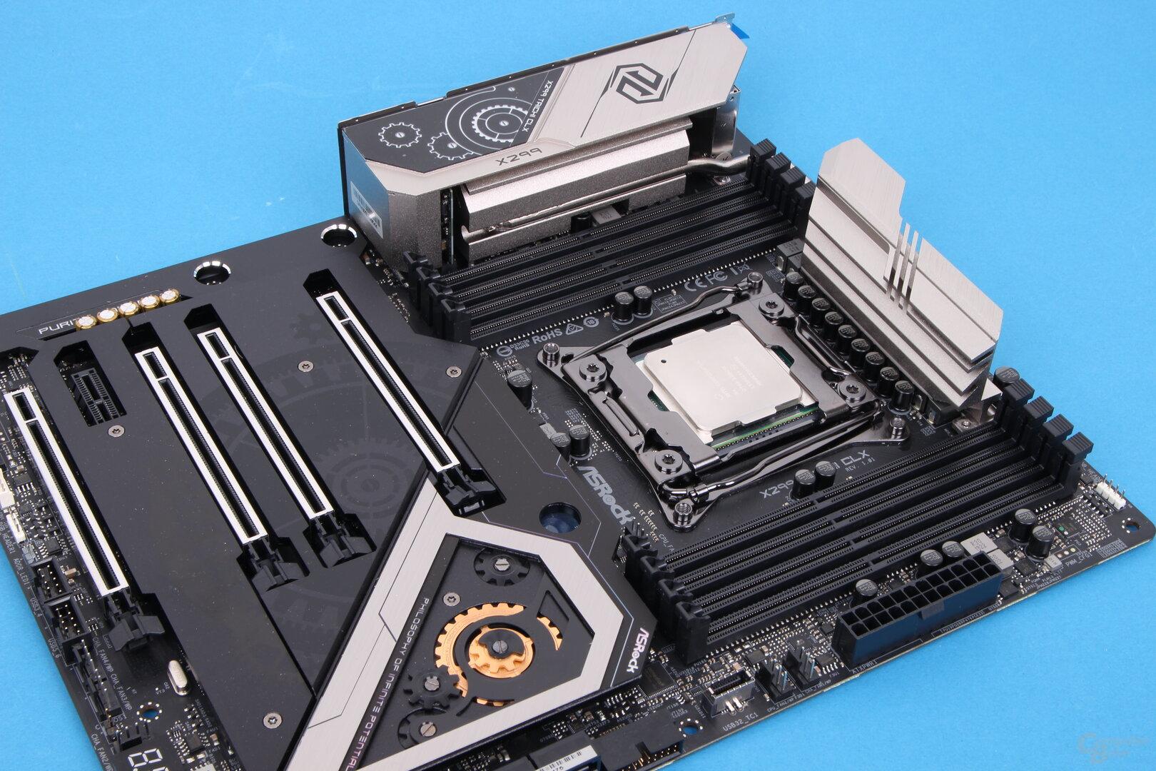 ASRock X299 Taichi CLX mit Intel Core i9-10980XE