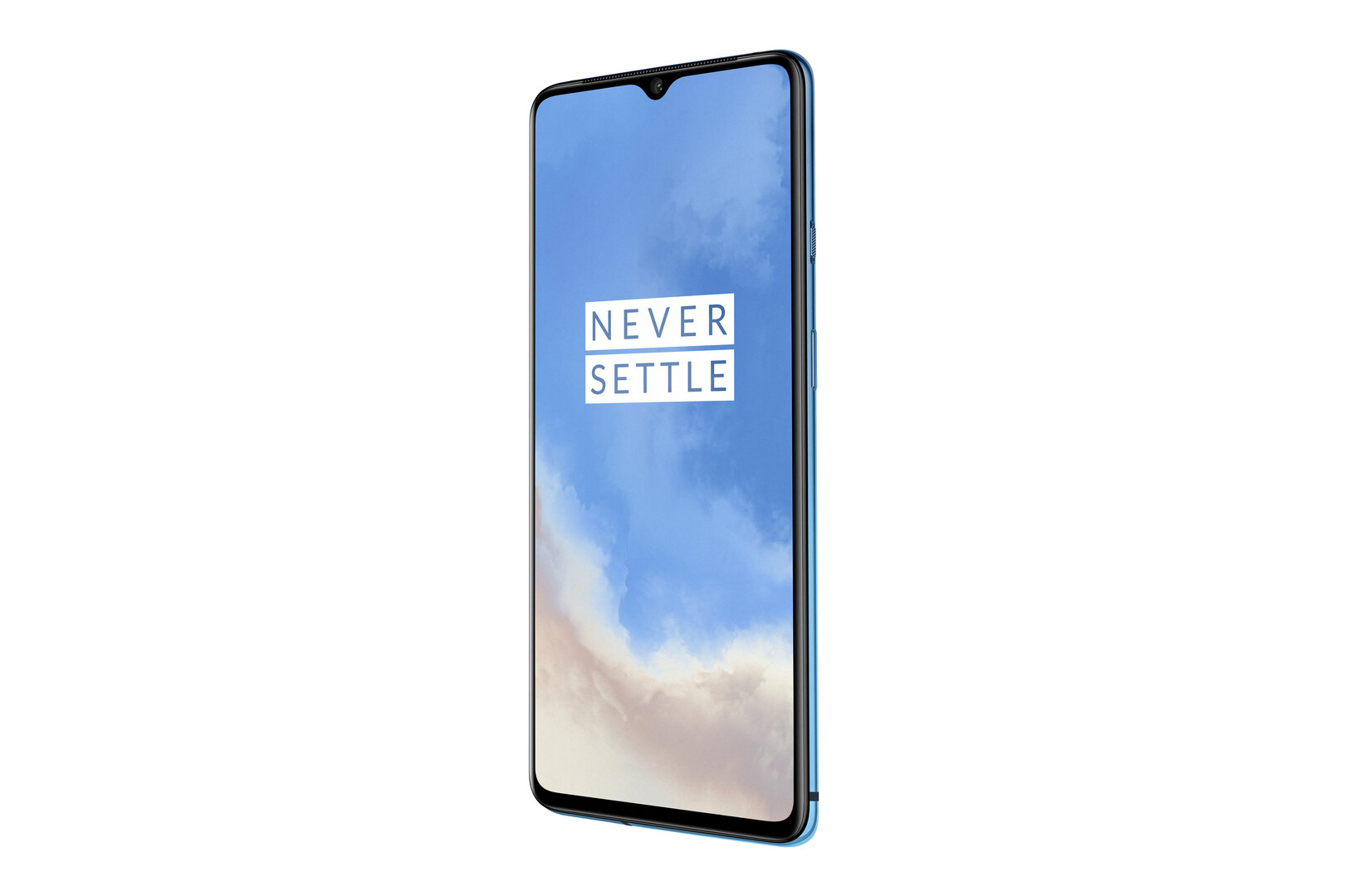OnePlus 7T in Glacier Blue