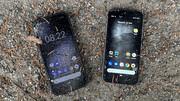 Gigaset GX290 und Cat S52 im Test: Runterfall-Smartphones in schick oder günstig