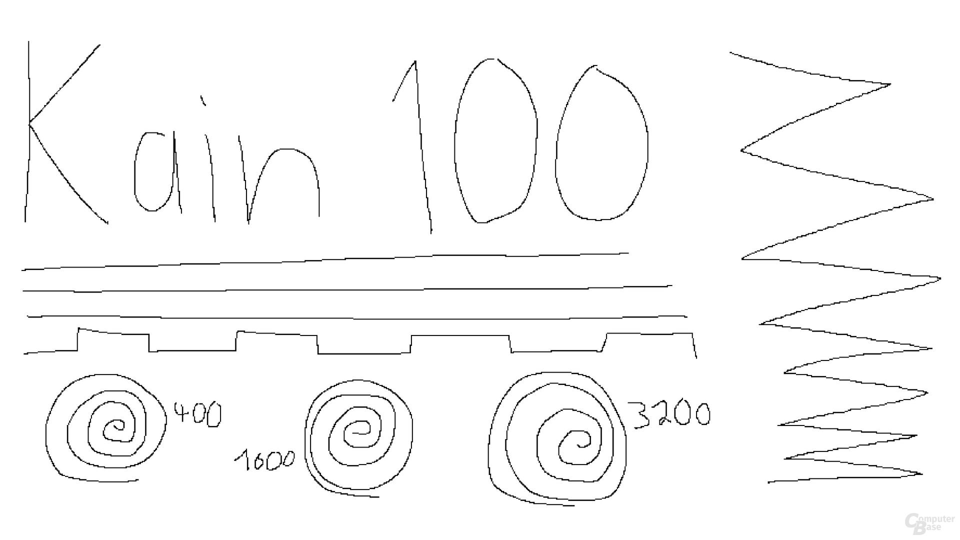 Roccat Kain 100 Aimo (1.000 Hertz, Mikrofaseruntergrund)