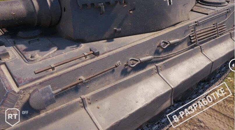 World of Tanks: Raytracing-Vergleichsbild; deaktiviert