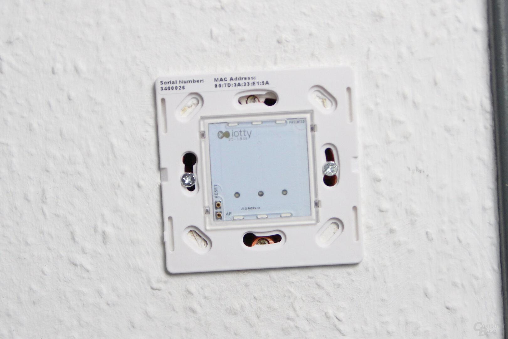 Iotty Smart Switch: Ohne Glasfront