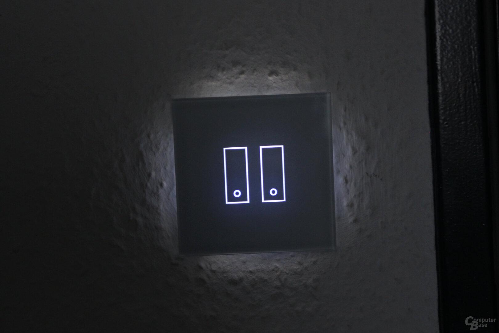 Iotty Smart Switch: LED-Beleuchtung bei Dunkelheit