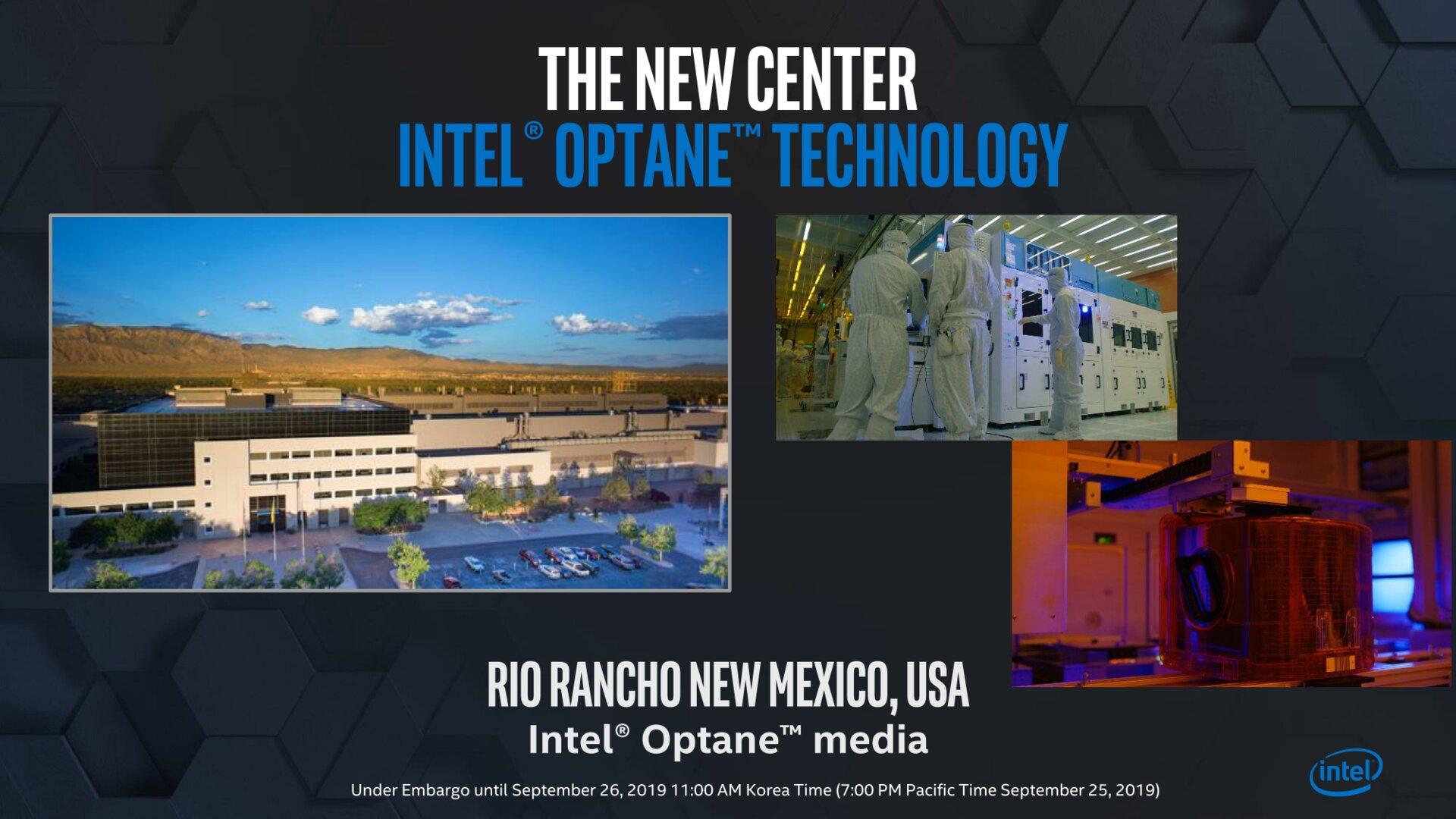 Intel forscht an 3D XPoint in Rio Rancho, New Mexico