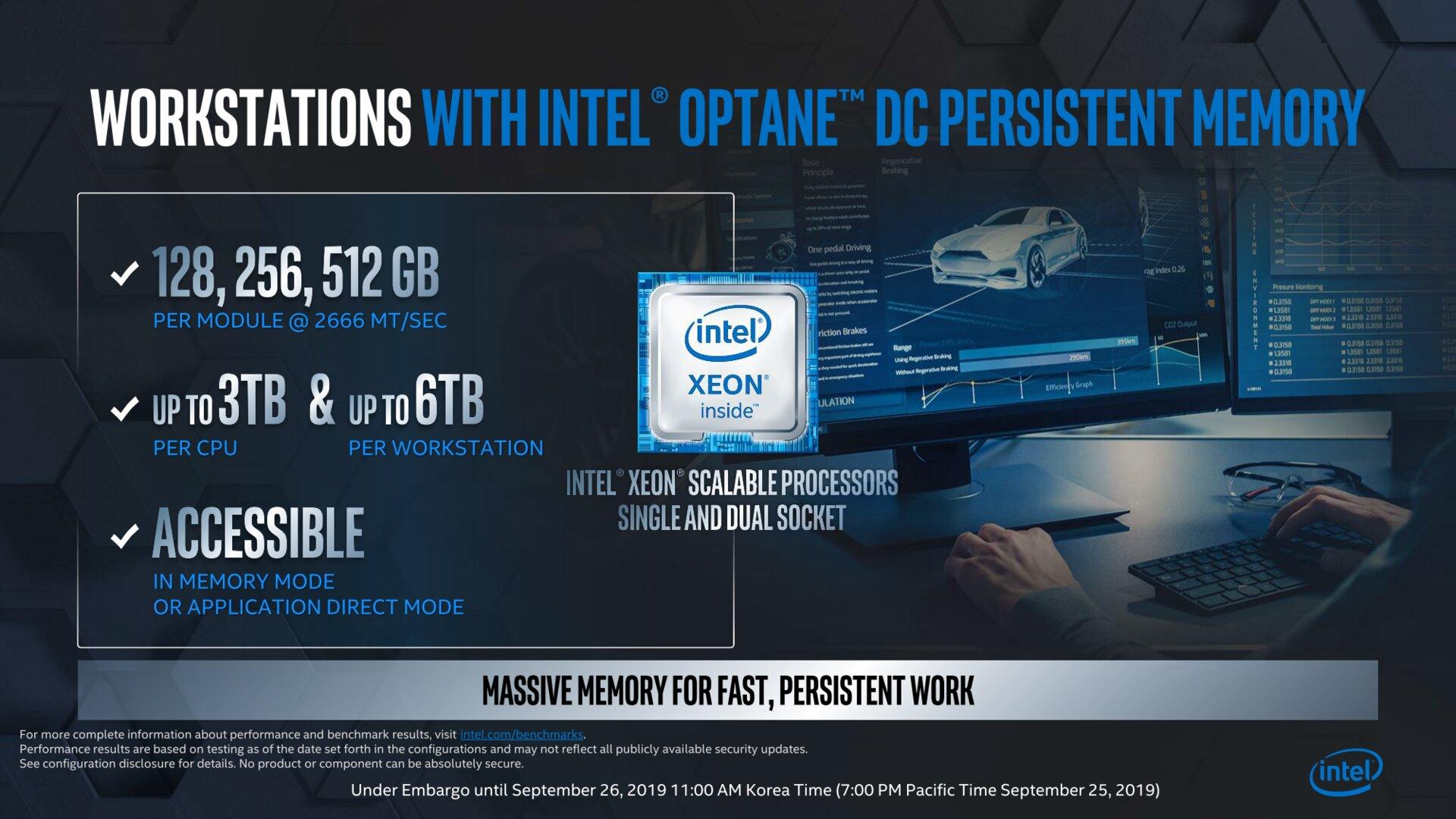 Optane-DIMMs bald für Workstations