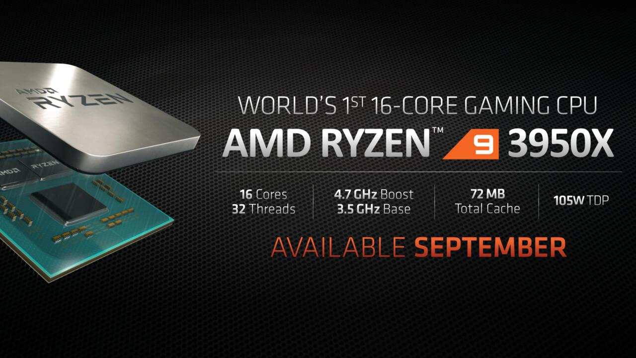 Fake News: Ryzen 9 3950X aus dem Handel ist ein AMD-Sample