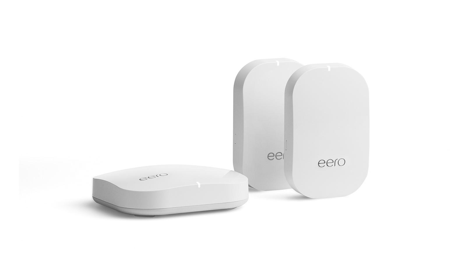 Mögliches Vorbild für Google: Eero Mesh-Router mit Beacons