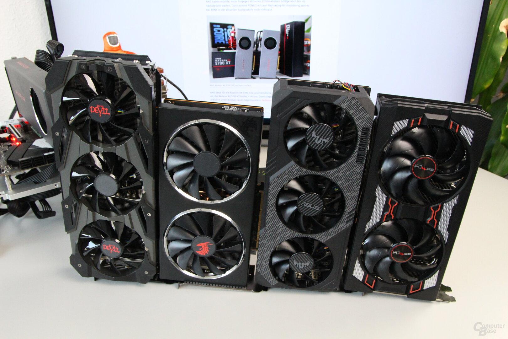 RX 5700 von PowerColor, Asus und Sapphire