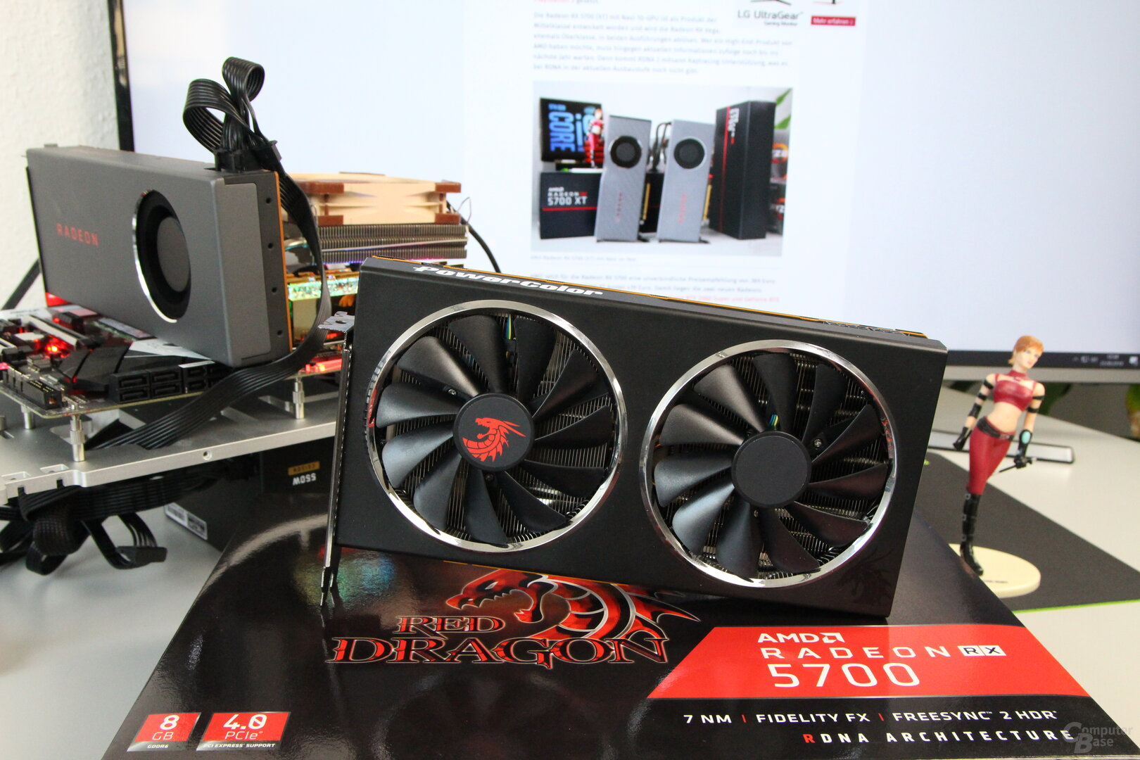 Die PowerColor Radeon RX 5700 Red Dragon im Test