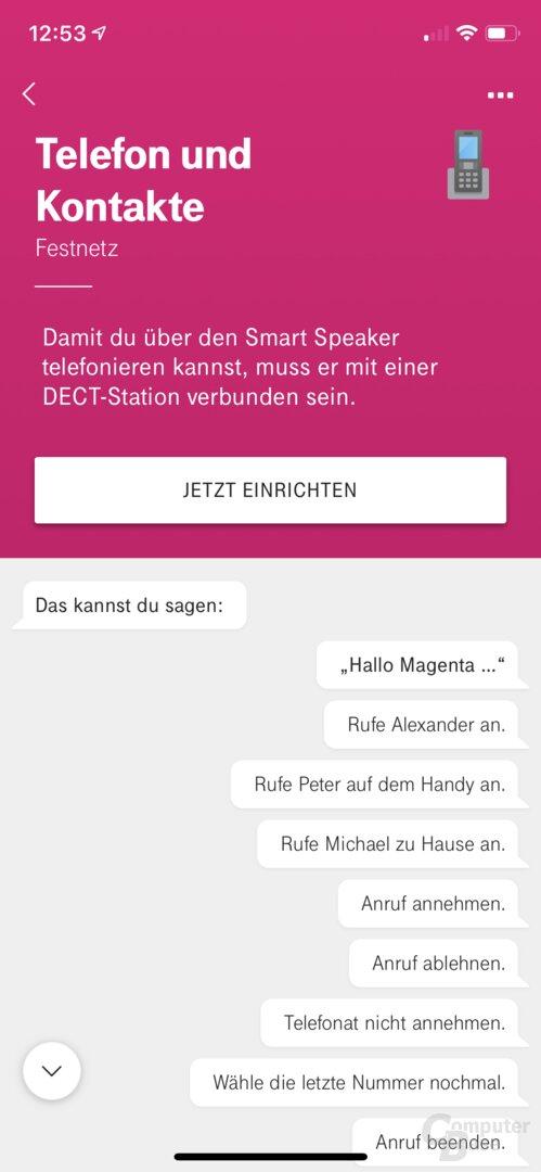 Den Telekom Smart Speaker als DECT-Mobilteil nutzen