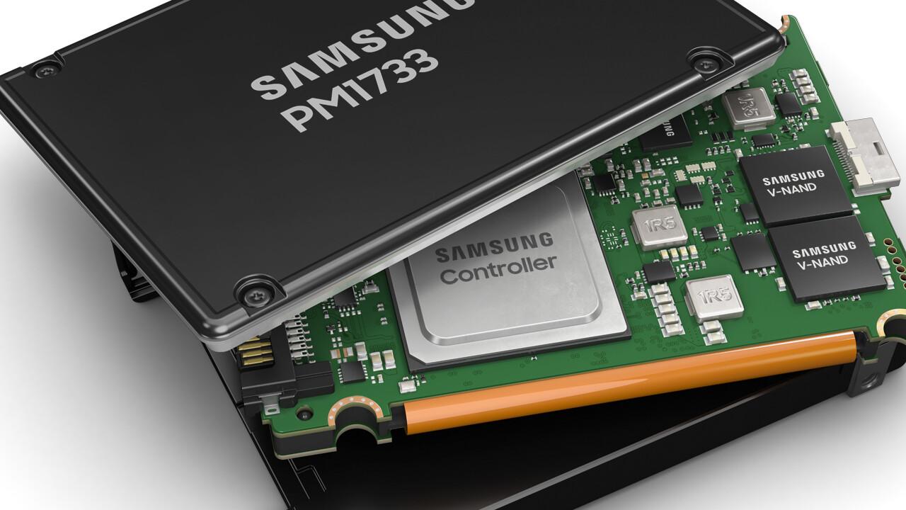 Samsung PM1733 und PM1735: Bei NAND-Defekt sollen PCIe-4.0-SSDs weiterarbeiten