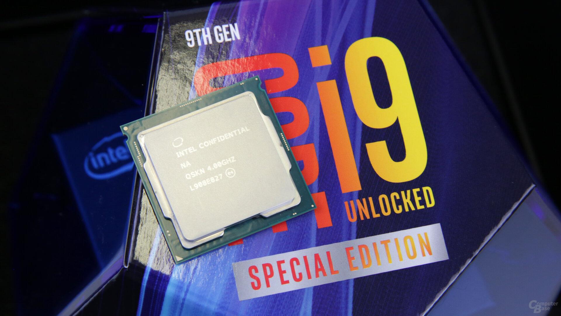 Intel Core i9-9900KS als schnellste Gaming-CPU