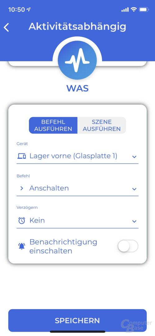 Iotty Smart Switch: Einrichtung und Steuerung über die App
