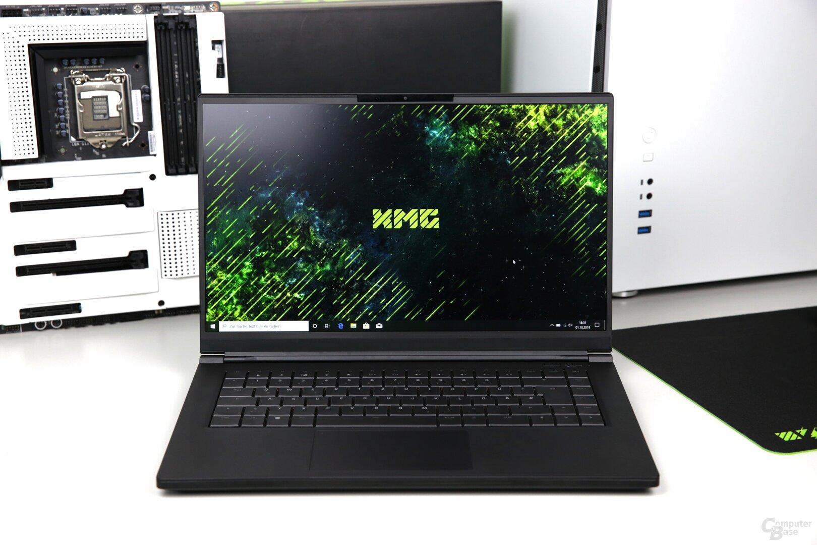 Das XMG Fusion 15 mit GeForce RTX 2070 Max-Q im Test