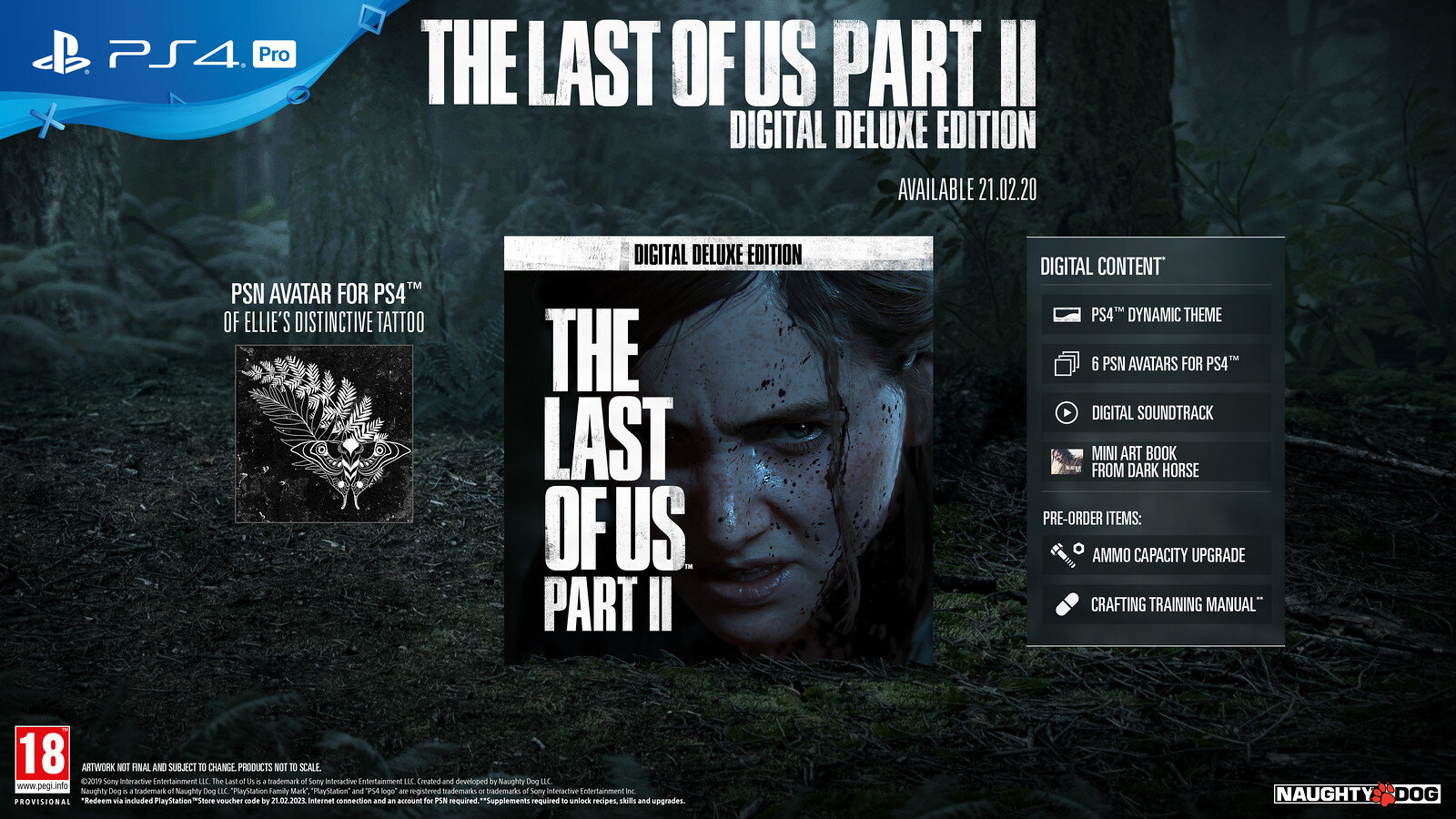 The Last of Us Part 2 – Digital Deluxe Edition