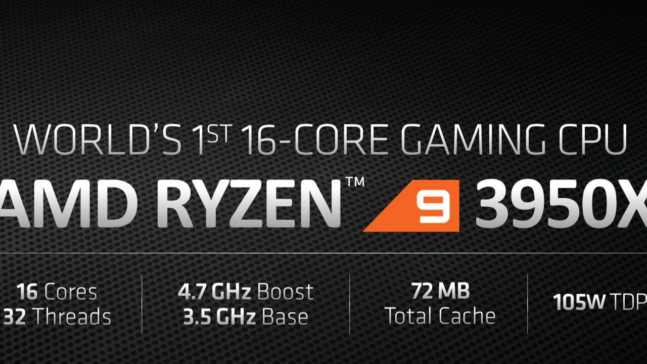 AMD Ryzen 9 3950X: Taktprobleme angeblich für Verschiebung verantwortlich