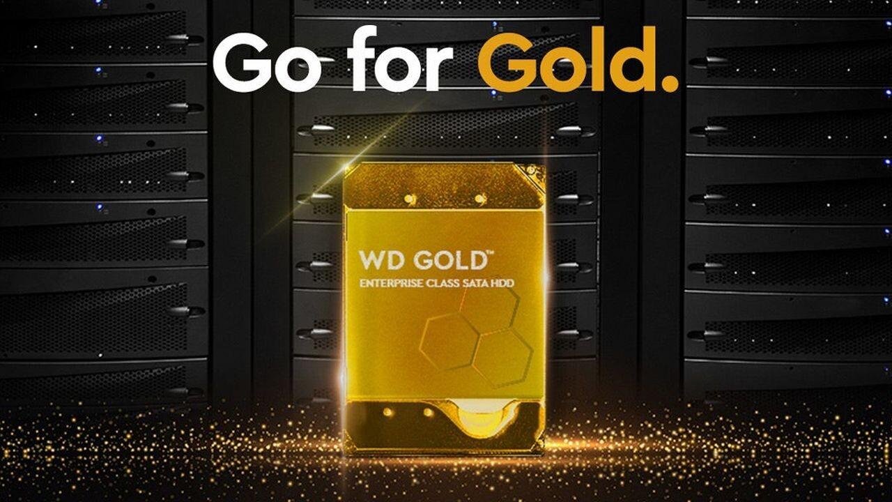 Enterprise-Festplatten: Rückkehr der Marke WD Gold mit bis zu 14TB