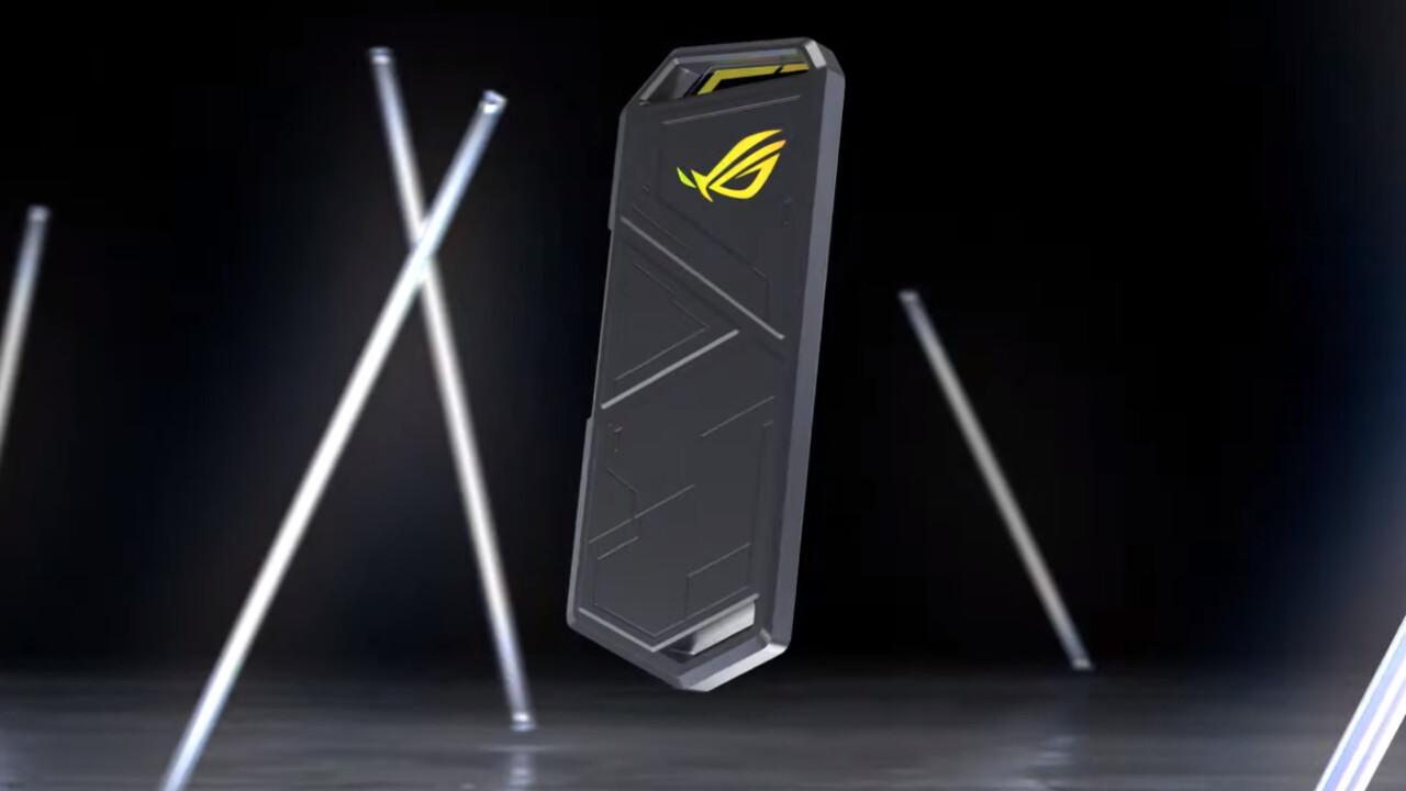 ROG Strix Arion: Asus bringt SSD-Gehäuse mit USB 3.2 und RGB