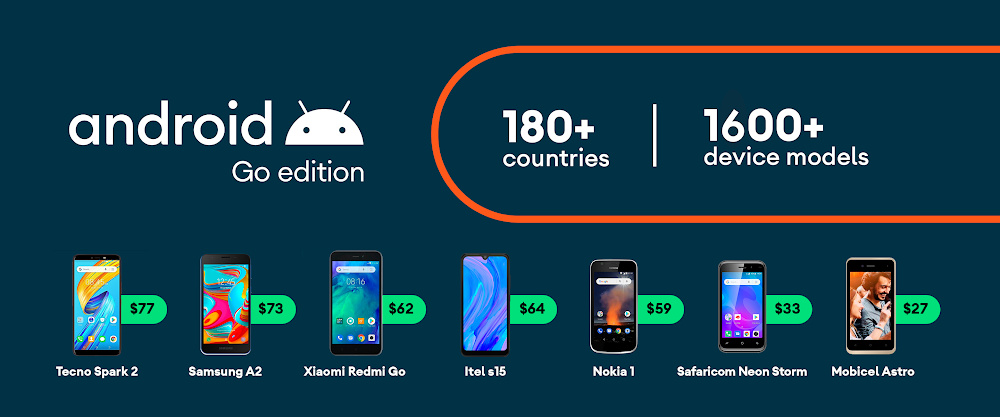 1.600 Geräte in über 180 Ländern erhalten Android 10 (Go Edition)
