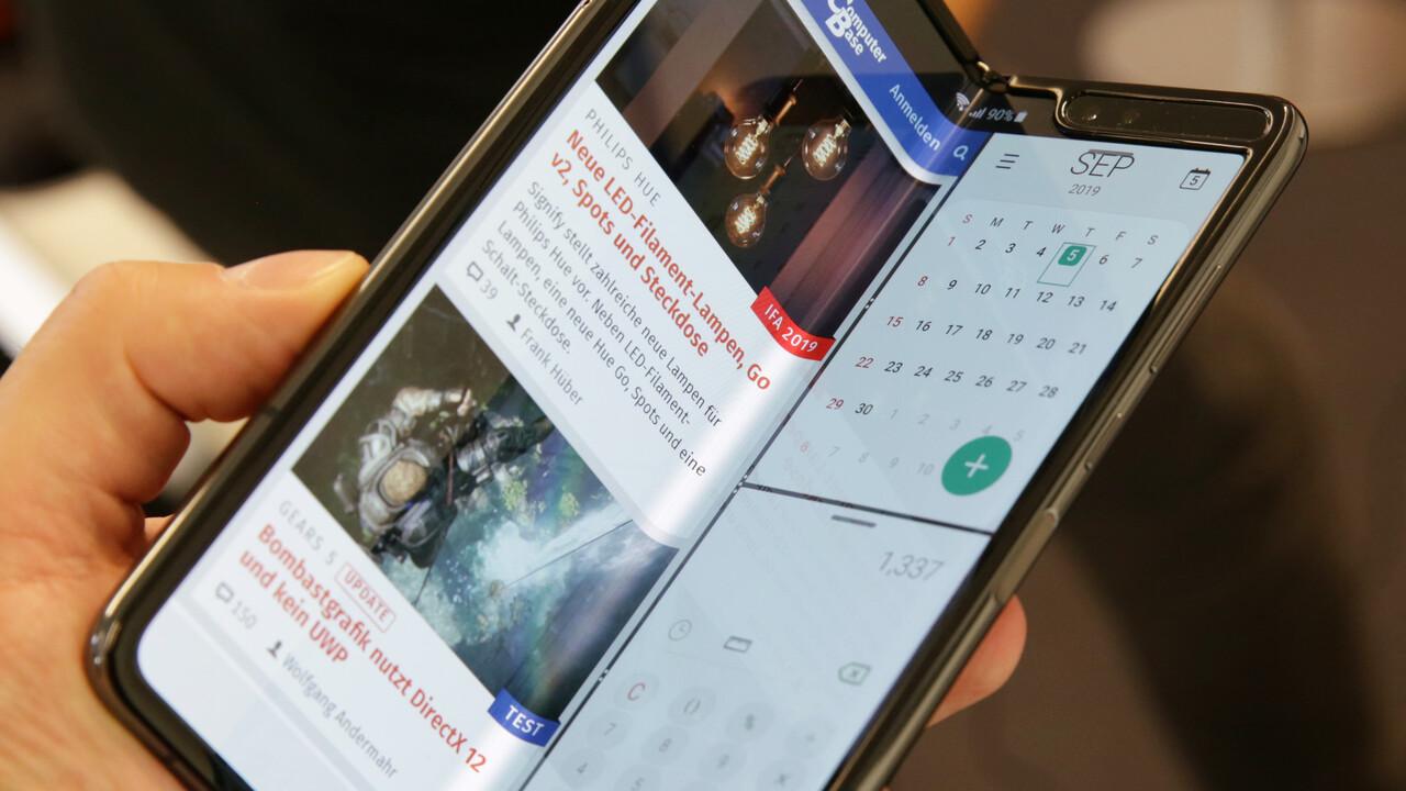 Falt-Smartphone: Galaxy Fold trotz Defekt in den USA hierzulande verfügbar