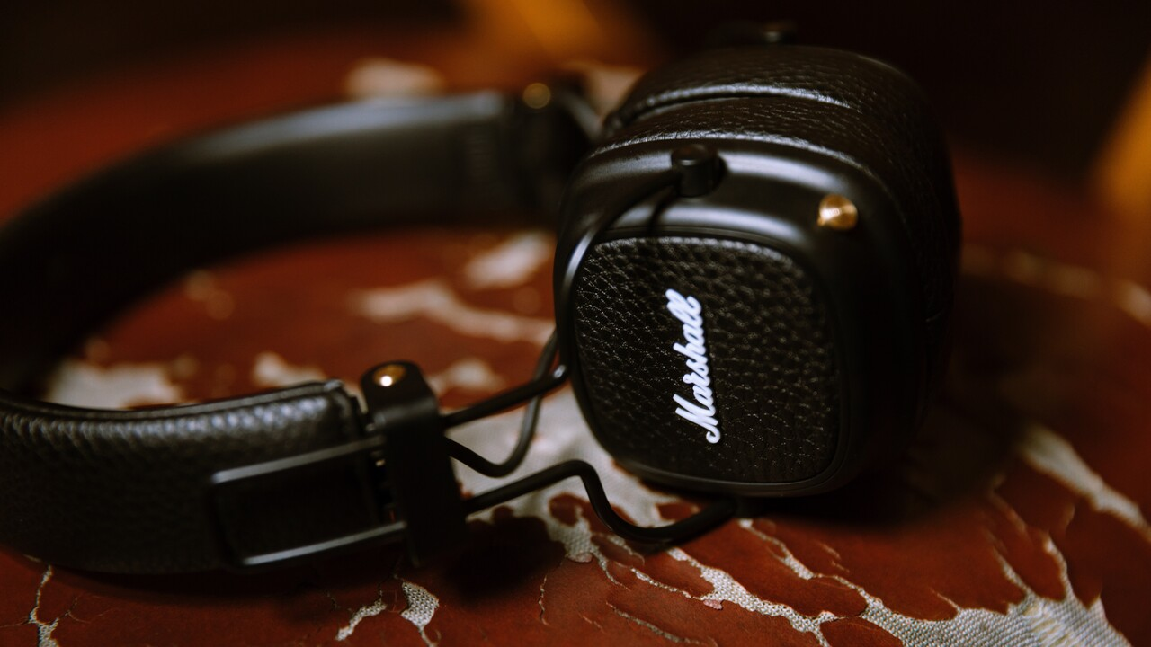 Marshall Major III Voice: Kopfhörer mit 60 Stunden Laufzeit und Google Assistant