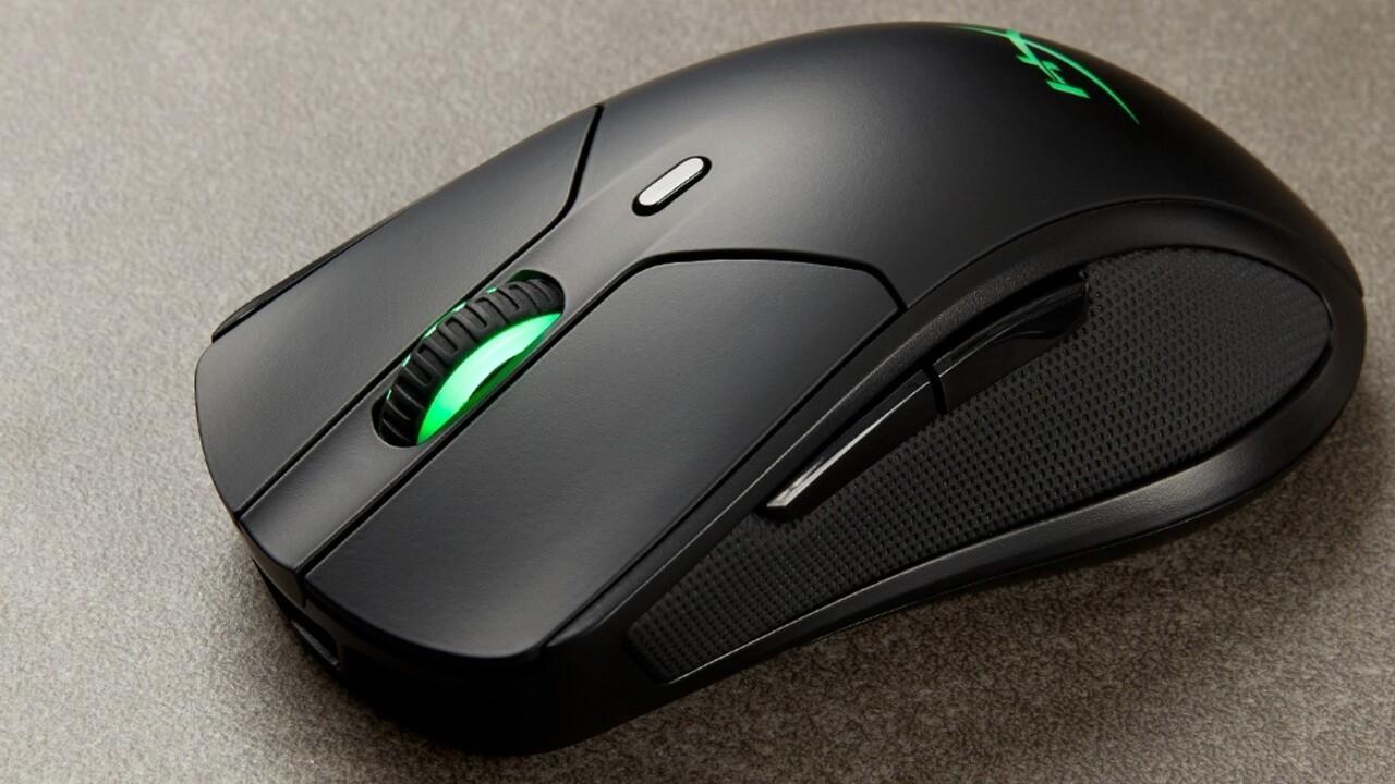 HyperX Pulsefire Dart: Kabellose Maus lädt induktiv für 90 Stunden Verwendung