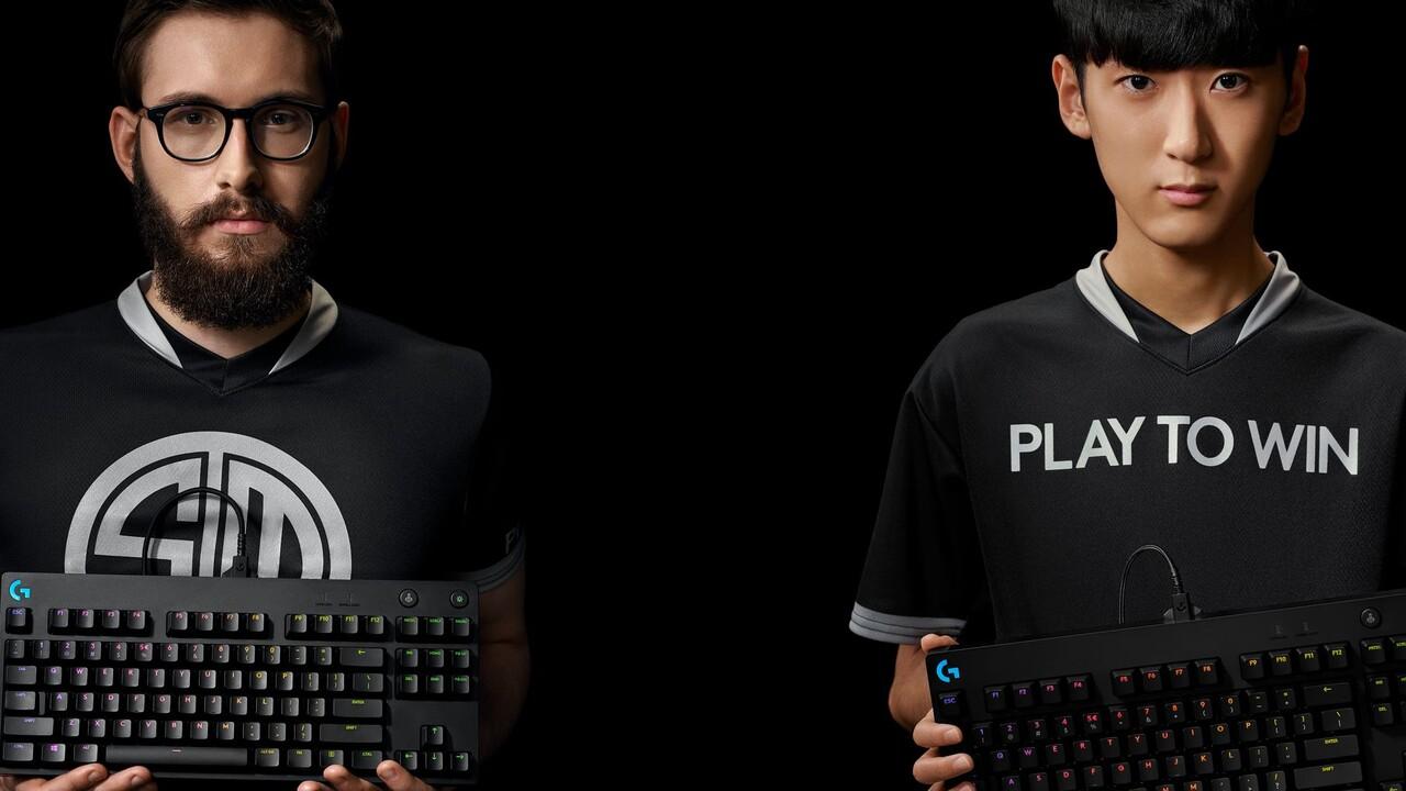 Logitech G Pro X: Kompakte Spiele-Tastatur ermöglicht Tastenwechsel