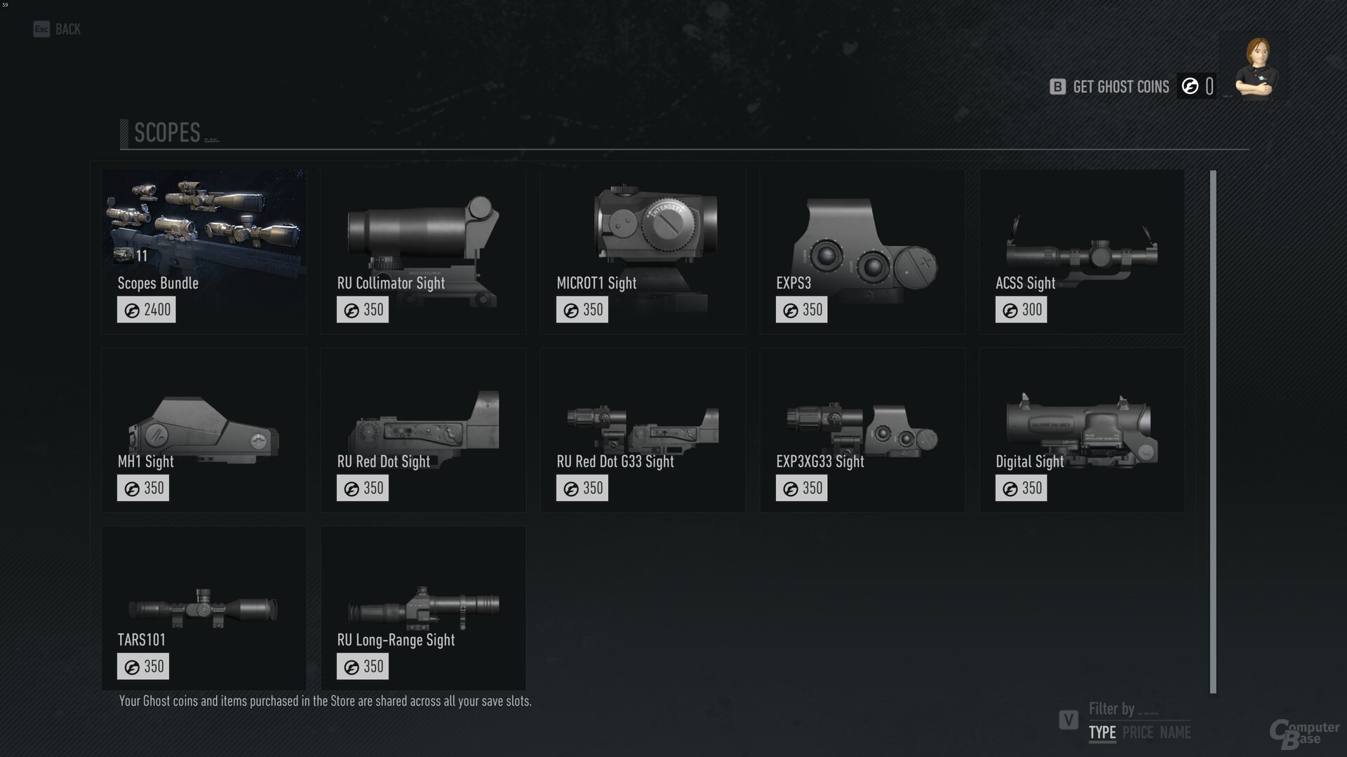 Das Angebot des Ingame-Shops in Ghost Recon Breakpoint