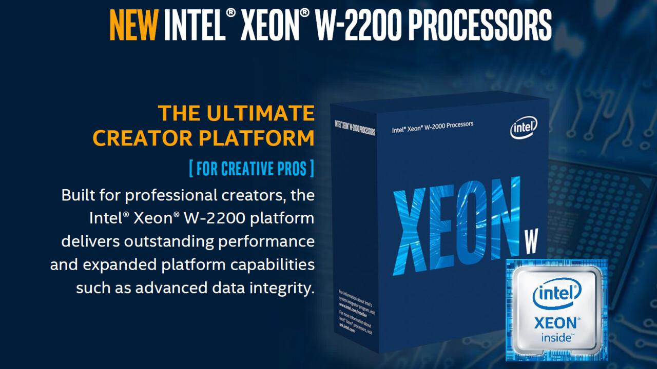 Intel Xeon W-2200: Auch neue Server-CPUs mit fast halbiertem Preis
