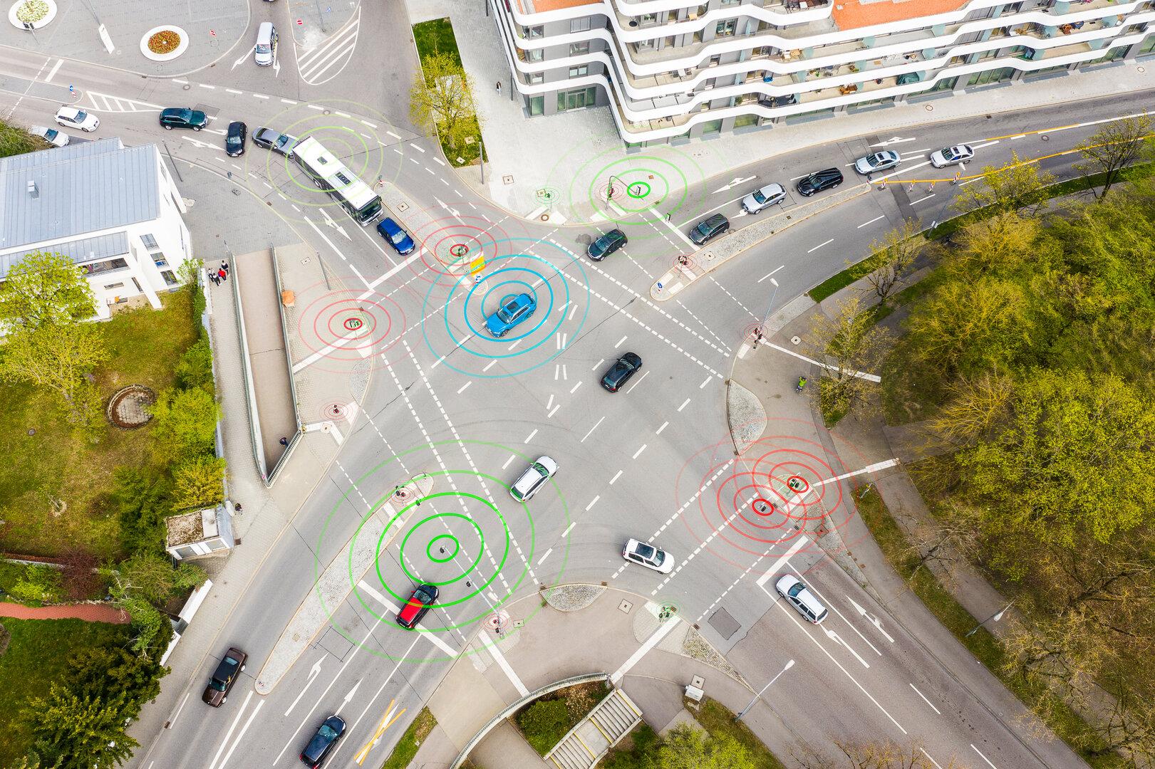 Aufbau digitaler Verkehrsinfrastruktur in Ingolstadt