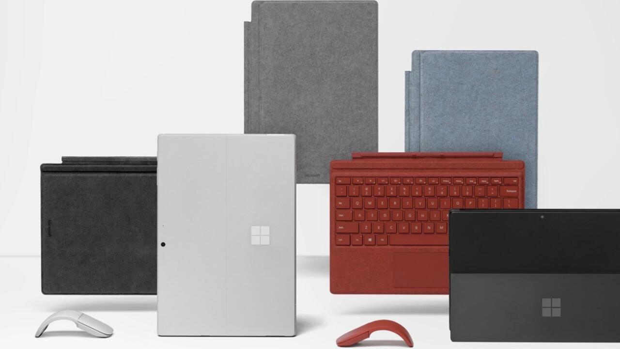Surface Pro 7: Ice Lake und erstmals USB Typ C im bekannten Chassis
