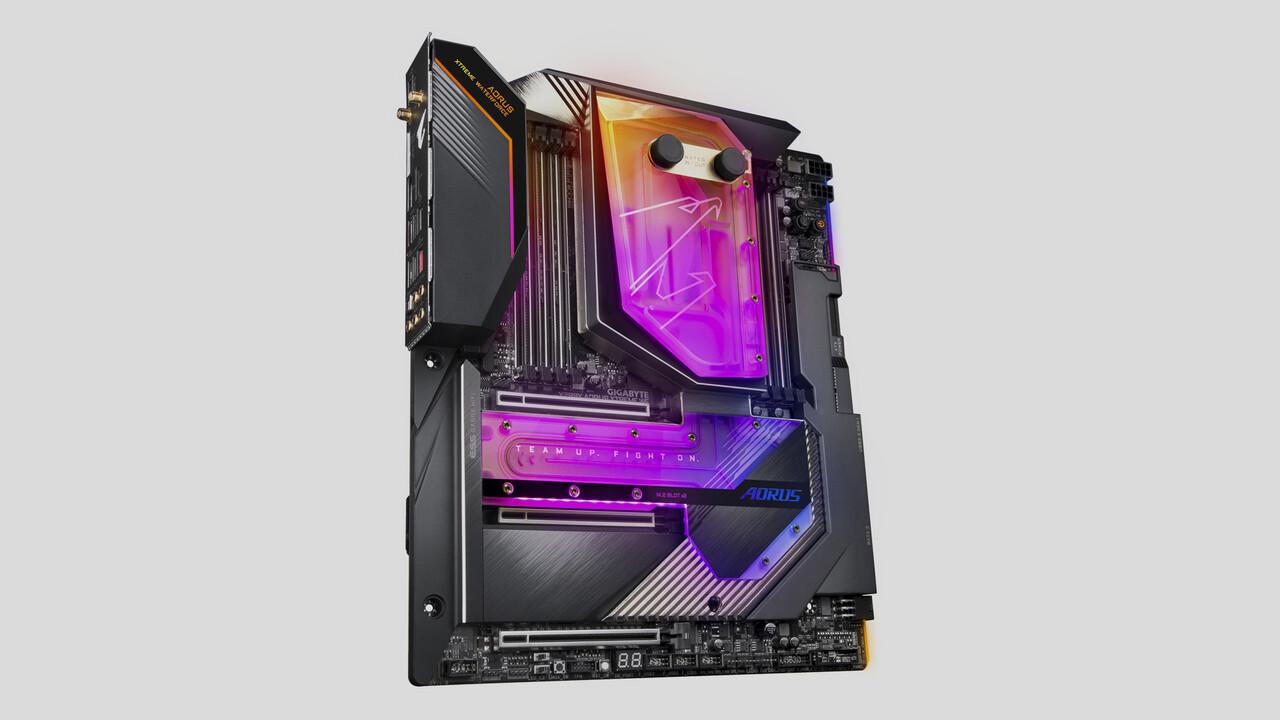 Gigabyte X299X-Mainboards: Bis zu 16 Phasen für Intel Cascade Lake-X