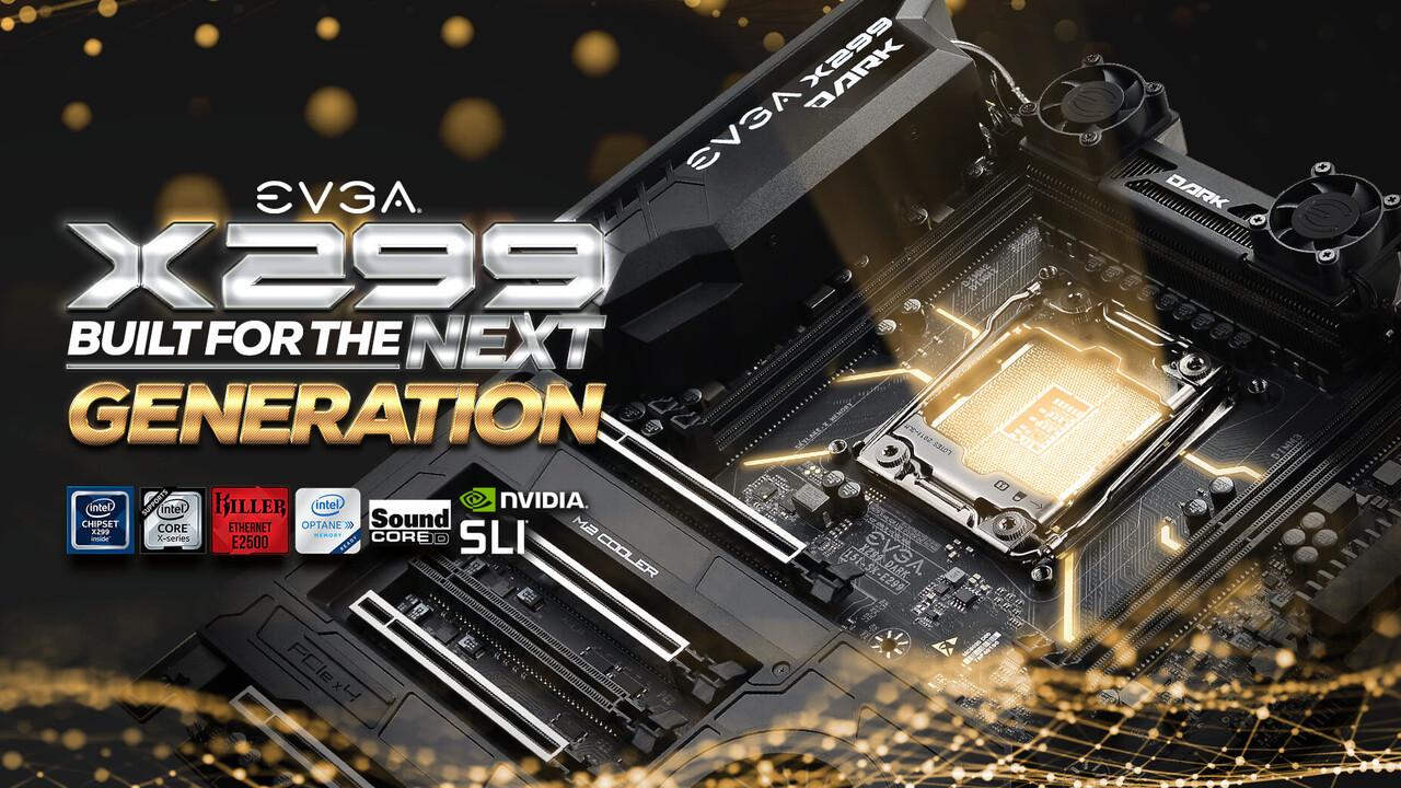 Platinen für Cascade Lake-X: X299-Mainboards von EVGA erhalten BIOS-Updates