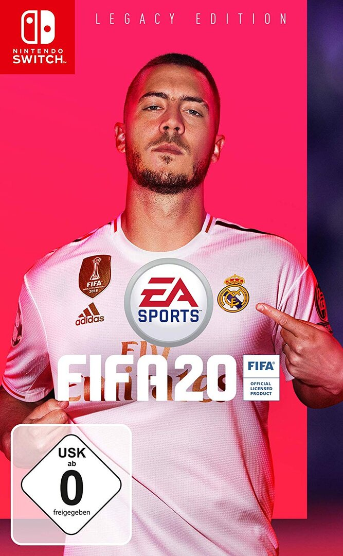 """""""FIFA 20"""" auf der Switch ist FIFA 19 mit Kunstbart"""