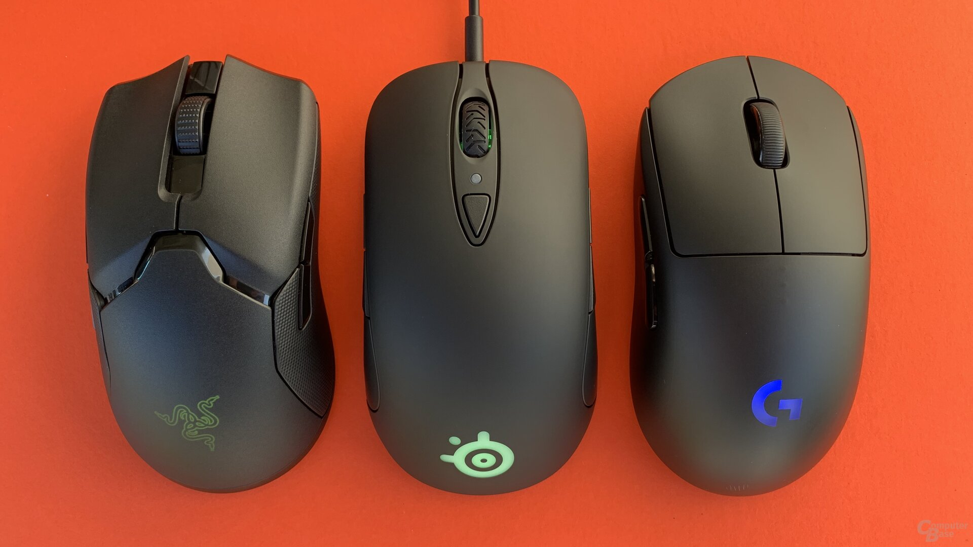 Razer Viper Ultimate, SteelSeries Sensei Ten & Logitech G Pro Wireless