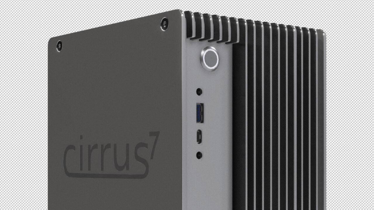 cirrus7 incus A300: Passiv gekühlter Mini-PC mit Athlon oder Ryzen