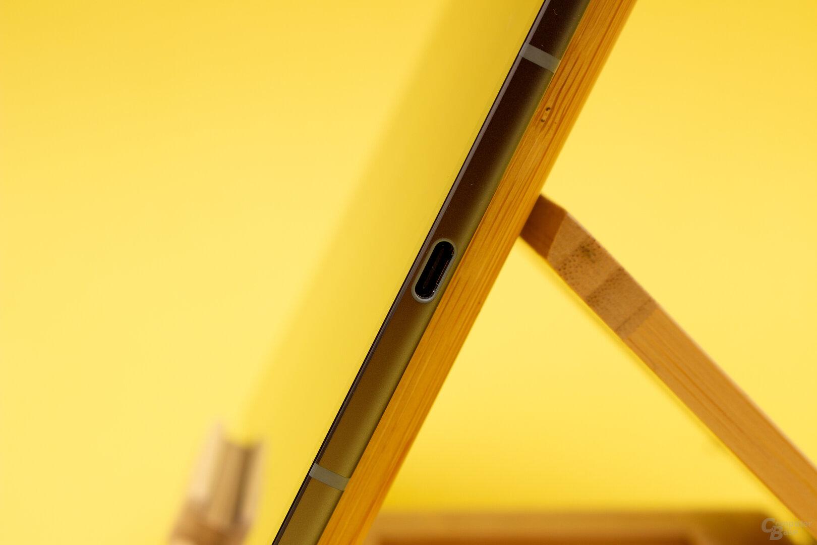 Der Kopfhöreranschluss muss beim S6 über den USB-C-Anschluss realisiert werden