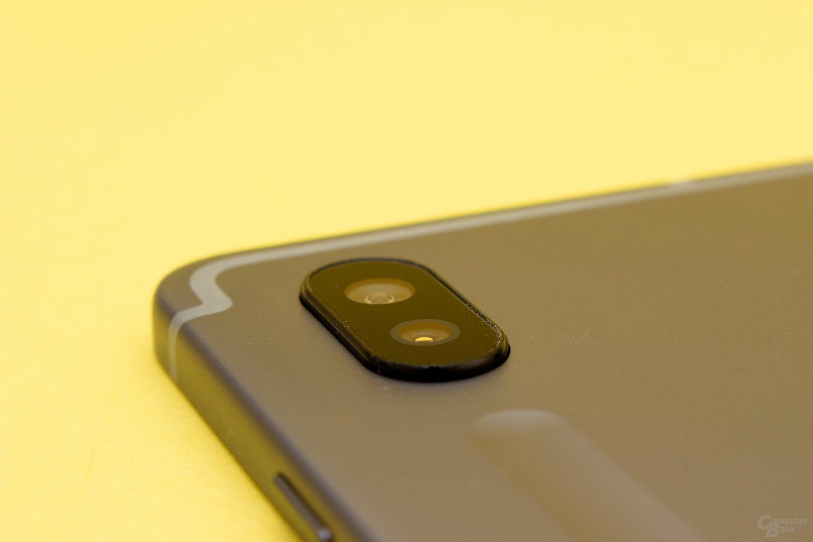 Die Kamera ragt aus dem Gehäuse des Galaxy Tab S6 heraus